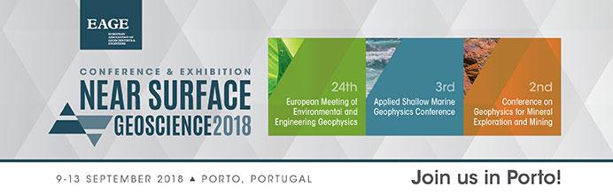 """Ежегодная выставка-конференция, посвященная инженерной геофизике """"24th European Meeting of Environmental and Engineering Geophysics. Near Surface Geoscience Conference & Exhibition 2018"""""""